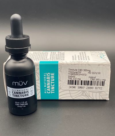 CBD Sublingual Tincture by Muv