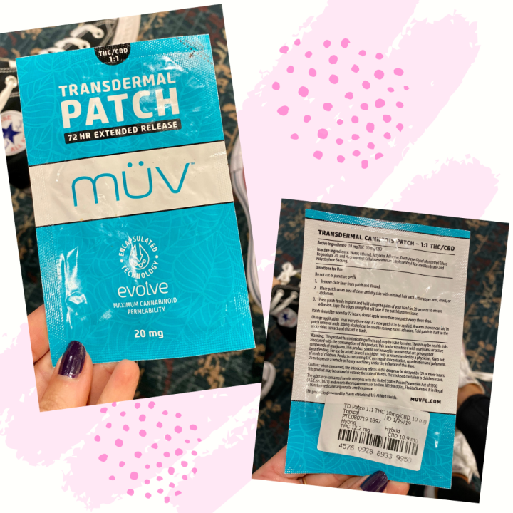 1:1 Transdermal Patch by Muv
